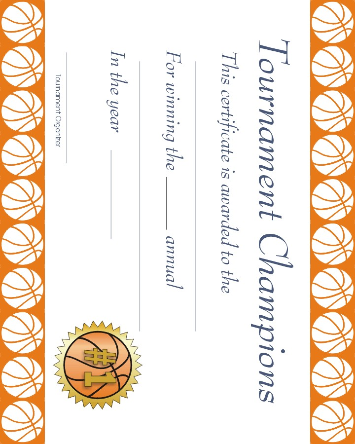 Free printable sports lolport for Sports certificate templates free printable